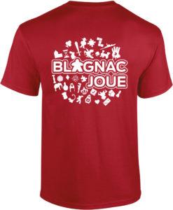 T-shirt festival Blagnac joue